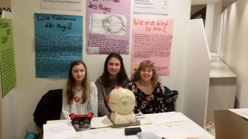 Eindrücke vom Jugend forscht Regionalwettbewerb 2019