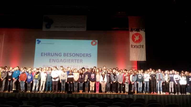 Aufnahme der Teilnehmer Jufo2018